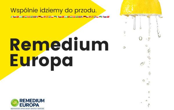 Remedium Europa, startujemy ze świeżymi pomysłami…