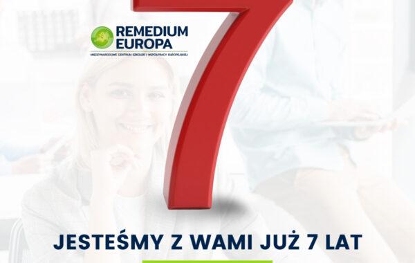 7 Lat Remedium Europa